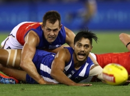 AFL 2019 Round 02 - North Melbourne v Brisbane