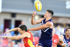 AFL 2019 Round 02 - Gold Coast v Fremantle