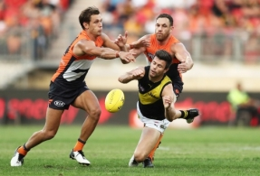 AFL 2019 Round 03 - GWS v Richmond