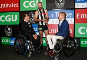 AFL 2019 Round 04 - Collingwood v Western Bulldogs