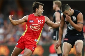 AFL 2019 Round 04 - Gold Coast v Carlton