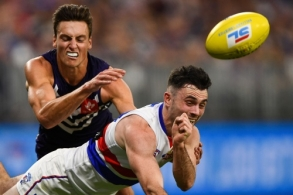 AFL 2019 Round 06 - Fremantle v Western Bulldogs