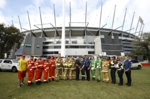 AFL 2019 Media - Emergency Services Media Launch