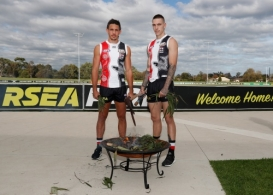 AFL 2019 Media - St Kilda Sir Doug Nicholls Guernsey Launch