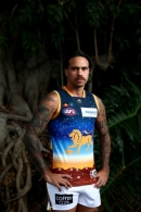AFL 2019 Media - Brisbane Sir Doug Nicholls Guernsey Launch
