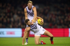 AFL 2019 Round 09 - Essendon v Fremantle