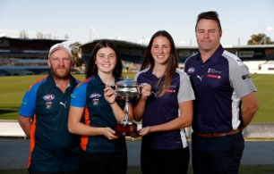 AFL 2019 Media - NAB League Girls GF Press Conference