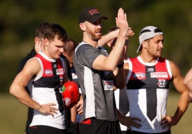 AFL 2019 Training - St Kilda 140619