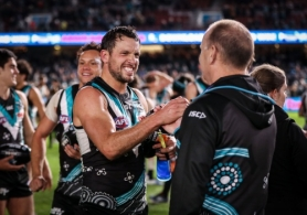 AFL 2019 Round 14 - Port Adelaide v Geelong