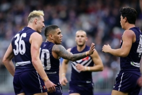 AFL 2019 Round 15 - Fremantle v Carlton