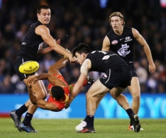 AFL 2019 Round 18 - Carlton v Gold Coast