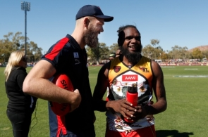 AFL 2019 Round 18 - Melbourne v West Coast