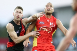 AFL 2019 Round 19 - Gold Coast v Essendon