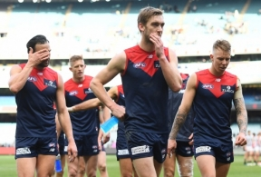 AFL 2019 Round 21 - Melbourne v Collingwood