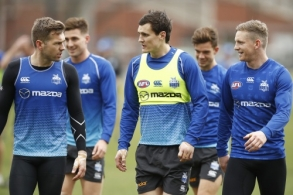 AFL 2019 Training - North Melbourne 140819