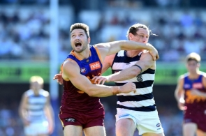 AFL 2019 Round 22 - Brisbane v Geelong