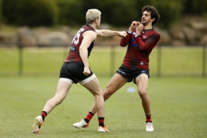 AFL 2019 Training - Essendon 201819
