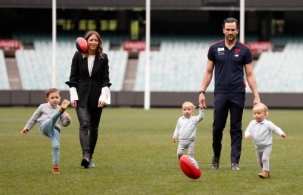 AFL 2019 Media - Jordan Lewis Retirement
