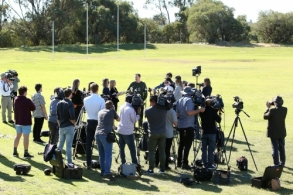 AFL 2019 Media - Ross Lyon Press Conference 200819
