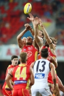 AFL 2019 Round 23 - Gold Coast v GWS