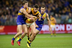 AFL 2019 Round 23 - West Coast v Hawthorn
