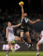 AFL 2019 Round 23 - Port Adelaide v Fremantle