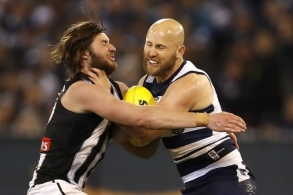 AFL 2019 First Qualifying Final - Geelong v Collingwood
