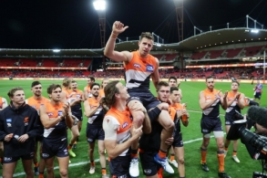 AFL 2019 Second Elimination Final - GWS v Western Bulldogs