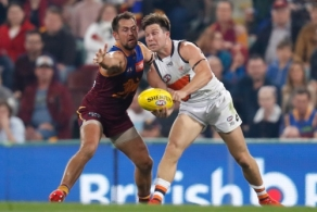 AFL 2019 Second Semi Final - Brisbane v GWS