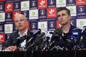 AFL 2019 Media - Fremantle Press Conference 300919