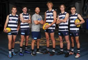 AFL 2019 Media - Geelong Media Opportunity 031219
