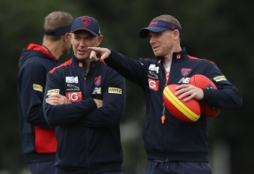 AFL 2019 Training - Melbourne 111219