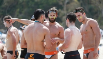 AFL 2019 Training - Giants on the Sunshine Coast
