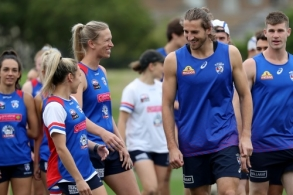 AFL 2019 Training - Western Bulldogs 141219
