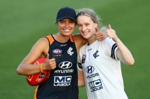 AFLW 2020 Training - Carlton 080120