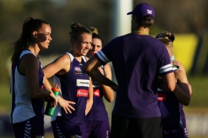 AFLW 2020 Training - Fremantle 140120
