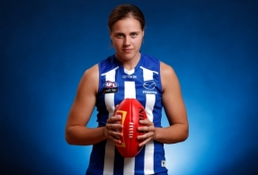 AFLW 2020 Portraits - North Melbourne