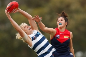 AFLW 2020 Training - Geelong v Melbourne Practice Match
