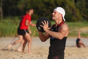 AFL 2020 Training - Bombers in Coffs Harbour
