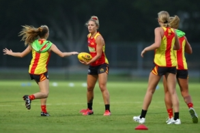 AFLW 2020 Training - Gold Coast Suns 040220