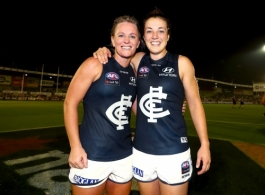 AFLW 2020 Round 01 - Richmond v Carlton