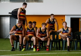 AFL 2020 Media - Adelaide Crows Team Photo Day