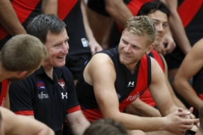 AFL 2020 Media - Essendon Team Photo Day