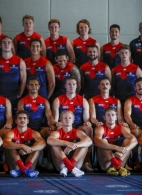 AFL 2020 Media - Melbourne Team Photo Day