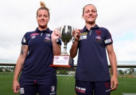 AFLW 2020 Media - Hampson-Hardeman Cup
