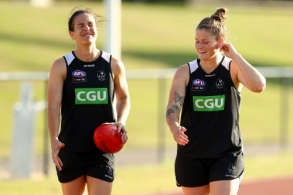 AFLW 2020 Training - Collingwood 120220
