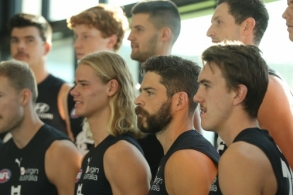 AFL 2020 Media - Carlton Team Photo Day