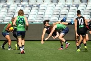 AFL 2020 Training - Geelong and Collingwood