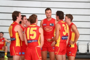 AFL 2020 Media - Gold Coast Suns Team Photo Day