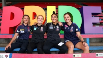 AFLW 2020 Media - Pride Round Media Opportunity